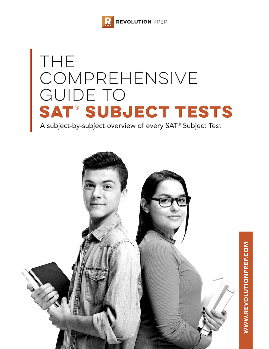 Get our FREE Guide to SAT® Subject Test Success